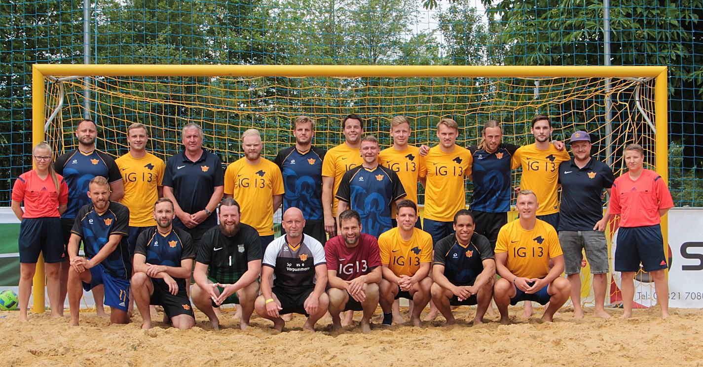 Wonderbaarlijk Jubiläumsspiel Allstars BSC Natendorf vs. Hohensee United TL-24